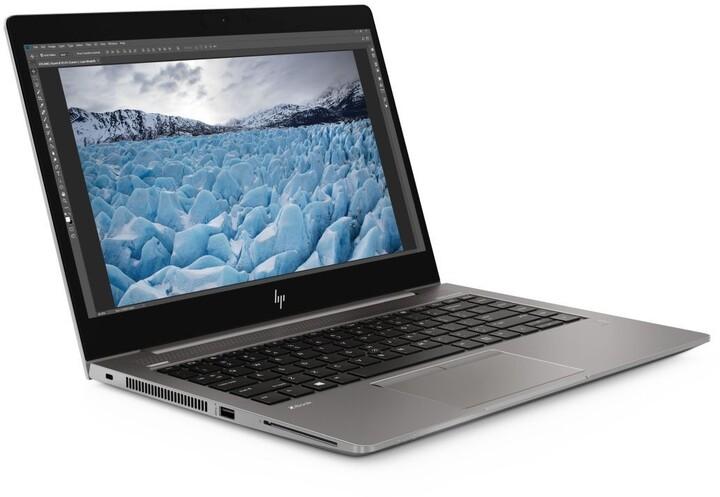 HP ZBook 14u G6, šedá