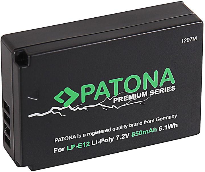 Patona Aku Canon LP-E12 850mAh Li-Pol PREMIUM