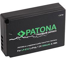 Patona Aku Canon LP-E12 850mAh Li-Ion PREMIUM - PT1297
