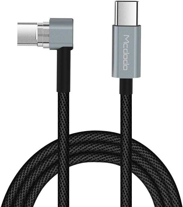 Mcdodo Type-C na Type-C kabel 2m, černá