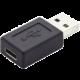 PremiumCord Adaptér USB 3.0 A/male - USB 3.1 konektory C/female