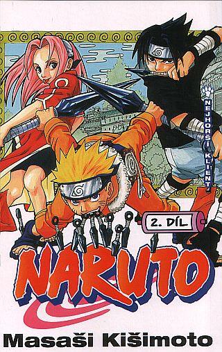 Komiks Naruto 02: Nejhorší klient