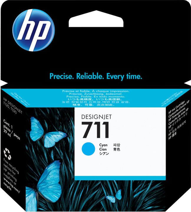 HP CZ134A náplň č.711, 3-pack, azurová