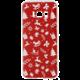 EPICO pružný plastový kryt pro Samsung Galaxy S8 RED XMAS  + EPICO Nabíjecí/Datový Micro USB kabel EPICO SENSE CABLE