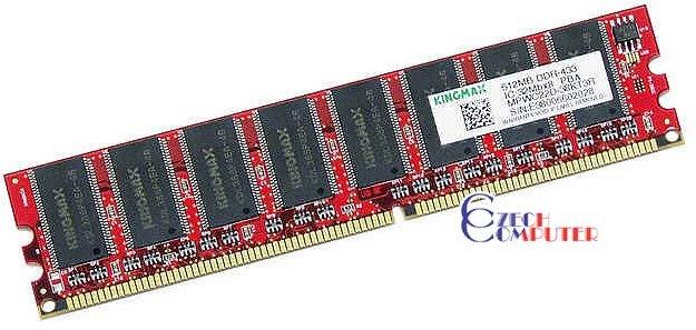 Kingmax DIMM 512MB DDR 433MHz CL2.5