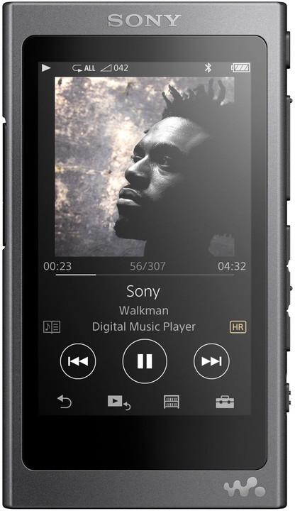 Sony NW-A35, 16GB, černá