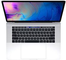 Apple MacBook Pro 15 Touch Bar, 2.2 GHz, 256 GB, Silver (2018)  + Servisní pohotovost – Vylepšený servis PC a NTB ZDARMA + Možnost vrácení nevhodného dárku až do půlky ledna