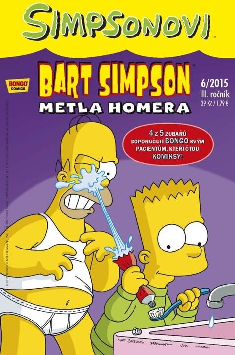 Komiks Bart Simpson: Metla Homera, 6/2015