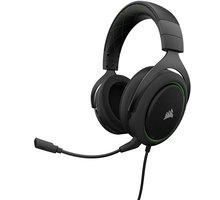Corsair HS50 Stereo, zelená