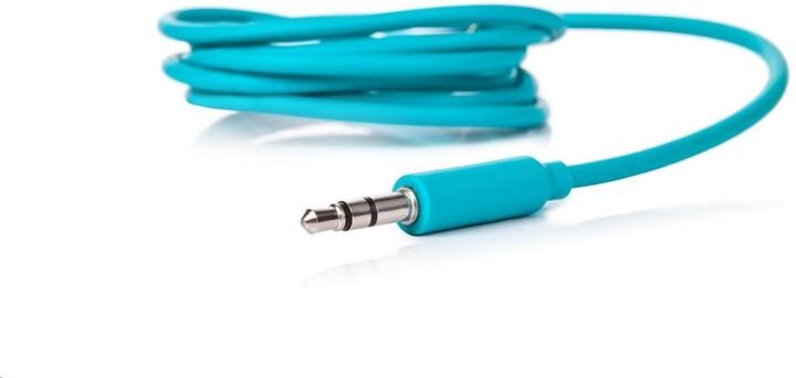 LAMAX kabel audio 3.5mm jack pro Blaze B-1, 1.2m, tyrksová