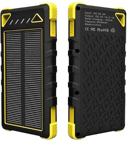 Viking solární power banka SPT-80 8000 mAh, žlutá