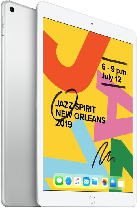 """Apple iPad 2019, 10.2"""" Wi-Fi 32GB, Silver"""