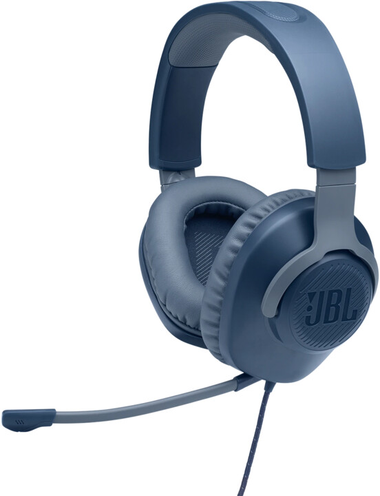 JBL Quantum 100, modrá
