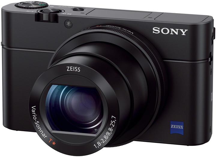 Sony Cybershot DSC-RX100M3, černá