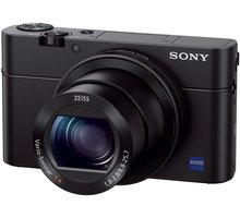 Sony Cybershot DSC-RX100M3, černá - DSCRX100M3.CE3 + Jupio NP-BX1 (with infochip) akumulátor pro Sony v hodnotě 699 Kč