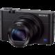 Sony Cybershot DSC-RX100M3, černá  + Paměťová karta SDHC 32GB Sandisk UHS-I (Class 10) (v ceně 419 Kč)