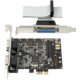 AXAGON PCEA-SP PCIe 2x serial+1x paralel  + Voucher až na 3 měsíce HBO GO jako dárek (max 1 ks na objednávku)