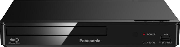 Panasonic DMP-BDT167EG, 3D, černá