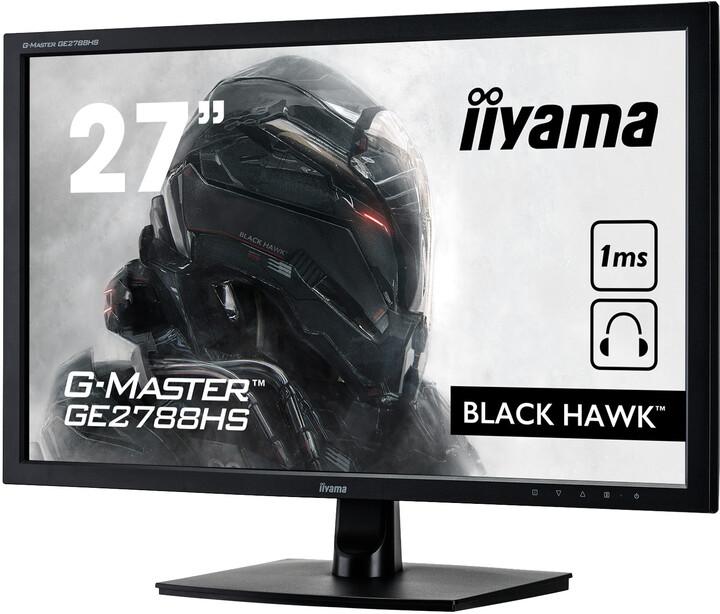 "iiyama G-MASTER GE2788HS-B1 - LED monitor 27"""