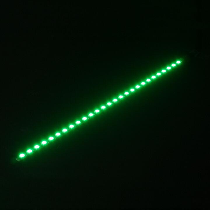 Nanoxia Rigid LED Bar pásek, 30 cm, Green