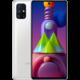 Samsung Galaxy M51, 6GB/128GB, White Kuki TV na 2 měsíce zdarma