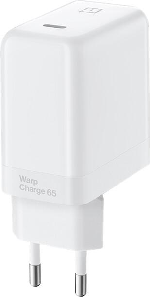 OnePlus síťová nabíječka Warp Charge 65, bílá