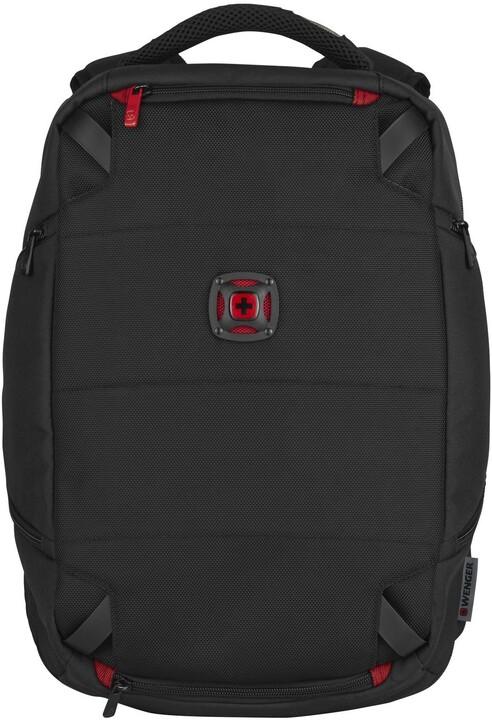 """WENGER TECHPACK - 14"""" batoh na notebook a příslušenství, černý"""
