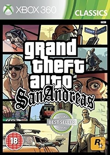 Grand Theft Auto: San Andreas (Xbox 360) - elektronicky