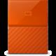 WD My Passport - 2TB, oranžová