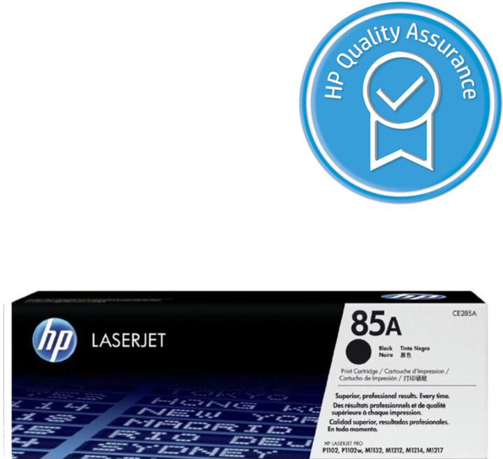 HP CE285A, černý