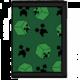 Peněženka Minecraft: Creeper Sweeper, rozkládací