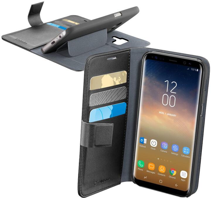 CellularLine Book Agenda pouzdro typu kniha pro Samsung Galaxy S9 Plus, černé