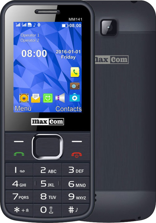 Maxcom MM141, Dual Sim, šedá