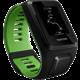 TOMTOM Runner 3 Cardio (L), černá/zelená