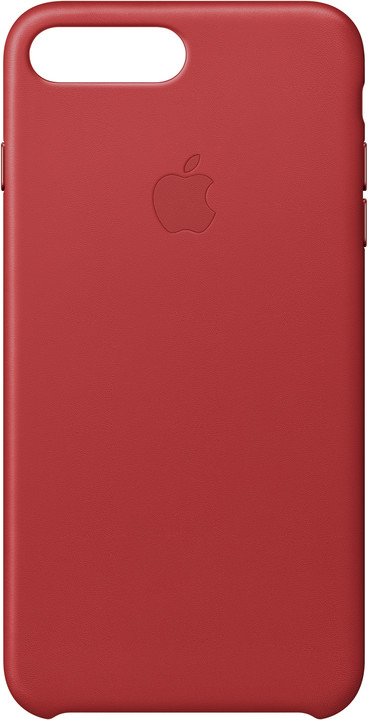 Apple Kožený kryt na iPhone 7 Plus/8 Plus – (PRODUCT)RED