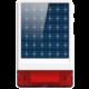 iGET SECURITY P12 - venkovní solární siréna  + Voucher až na 3 měsíce HBO GO jako dárek (max 1 ks na objednávku)