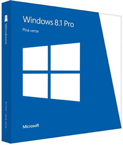Microsoft Windows 8.1 Pro CZ 64bit OEM