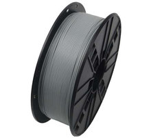 Gembird tisková struna (filament), PETG, 1,75mm, 1kg, šedá - 3DP-PETG1.75-01-GR