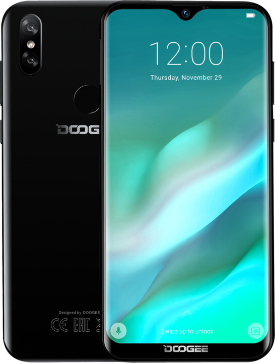 DOOGEE X90L, 3GB/16GB, Black