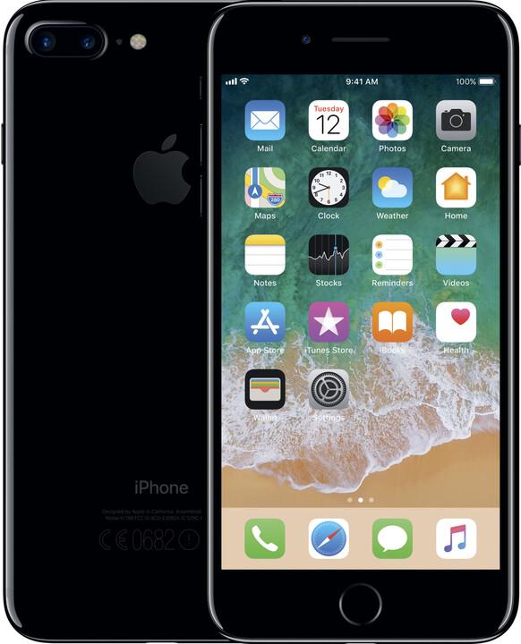 Apple iPhone 7 Plus, 128GB, temně černá