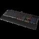 CORSAIR Gaming K70 LUX, herní, Cherry MX RGB Red, RGB LED, černá, EU