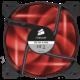 Corsair Air Series SP120, červená led, 120mm, 2ks