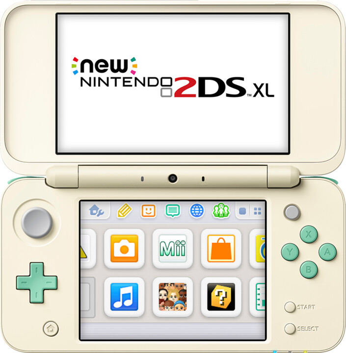 Nintendo New 2DS XL, Animal Crossing Edition