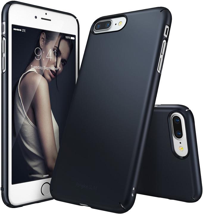 Ringke Slim case pro iPhone 7+, slate metal