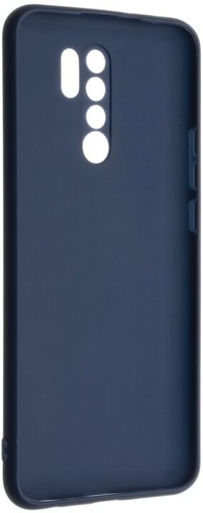 FIXED pogumovaný kryt Story pro Xiaomi Redmi 9, modrá