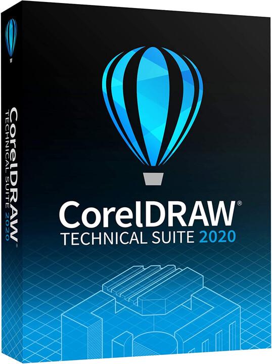 CorelDRAW Technical Suite 2020 Business - el. licence OFF