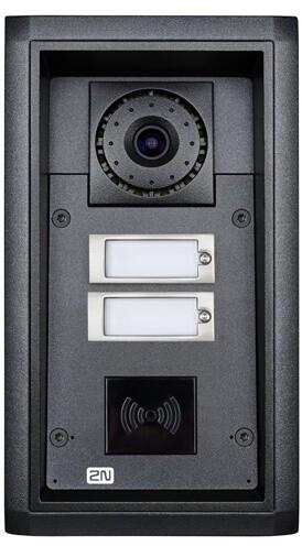 2N IP Force, 2 tlačítka, kamera, příprava pro čtečku karet, 10W repro
