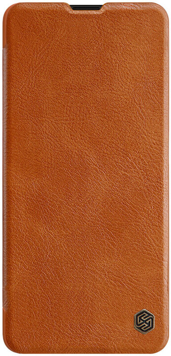 Nillkin Qin Book pouzdro pro Samsung Galaxy A51, hnědá