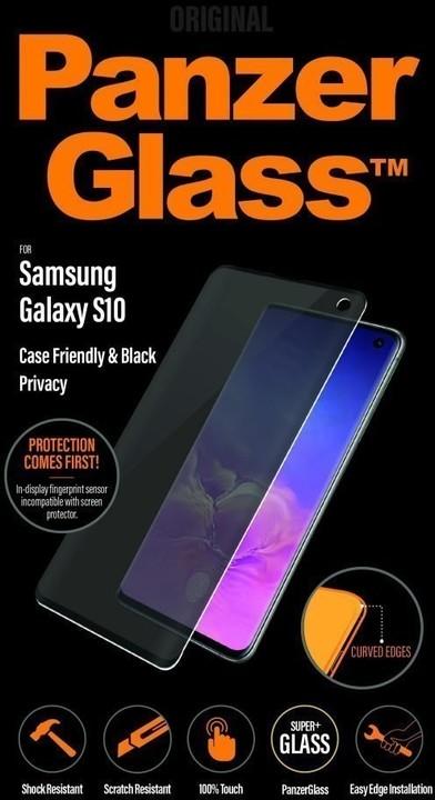 PanzerGlass Premium Privacy pro Samsung Galaxy S10, černá