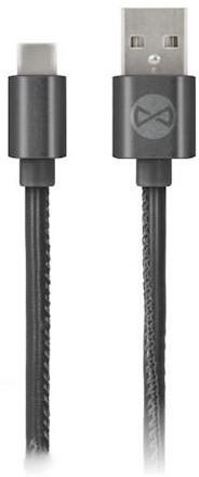 Forever datový kabel TFO USB C-TYPE, černý (TFO-N)